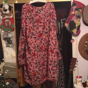 Rose Flow Dress